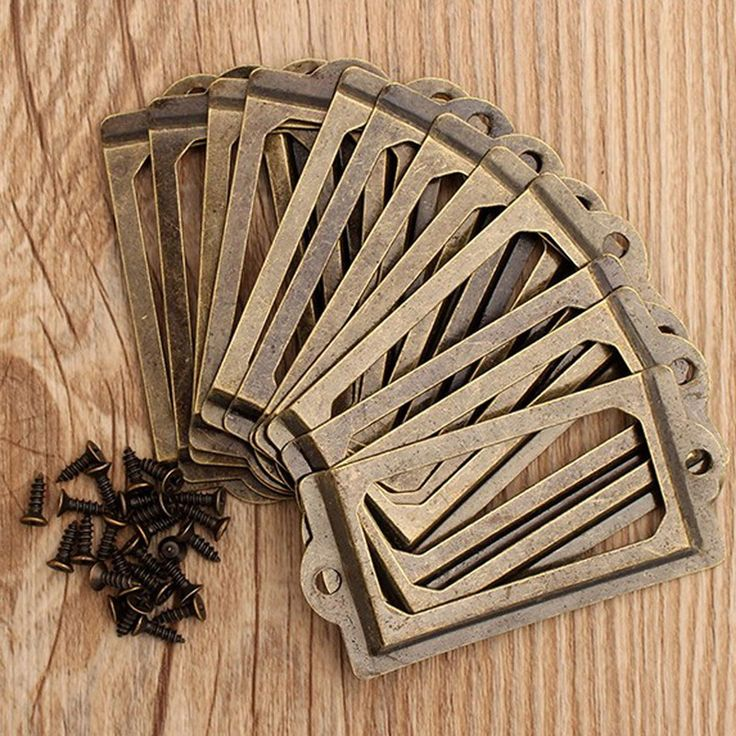 12Pcs/set Antique Brass Metal Label Pull Frame Handle File Name Card Holder For Furniture Cabinet Drawer Box Case Bin #>=#>=#>=#>=#> Click on the pin to check out discount price, color, size, shipping, etc. Save and like it!