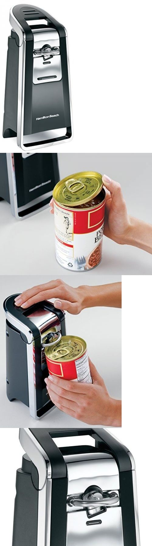 Can Openers and Crushers 20670: Smooth Touch Electric Can Opener Side Cutting System Large Lever Kitchen Gadget -> BUY IT NOW ONLY: $36.99 on eBay!