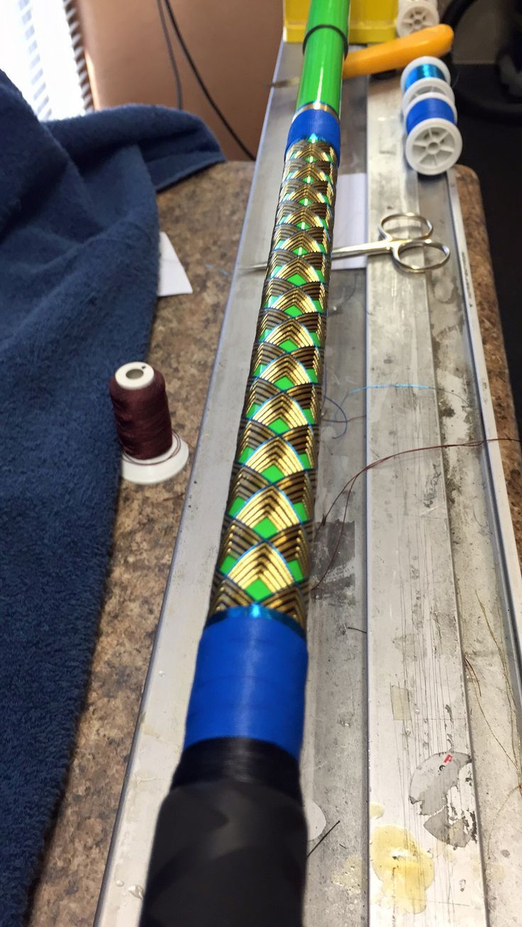 Rodgeeks 12 foot two piece 6-16 oz chevrons on 8 axis