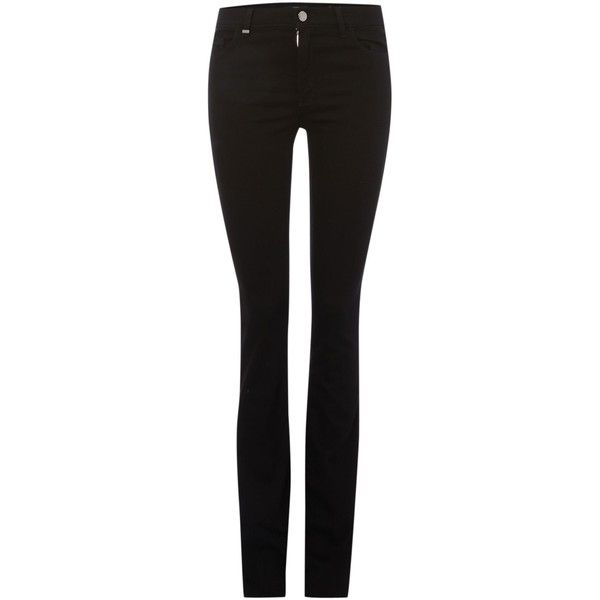 Hugo Boss Niona Plain Black Bootcut Jeans ($110) ❤ liked on Polyvore featuring jeans, black, sale, bootcut jeans, hugo, boot-cut jeans, boot cut jeans and black jeans