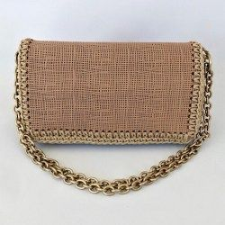 BEATRICE LEATHER FLAP BAG