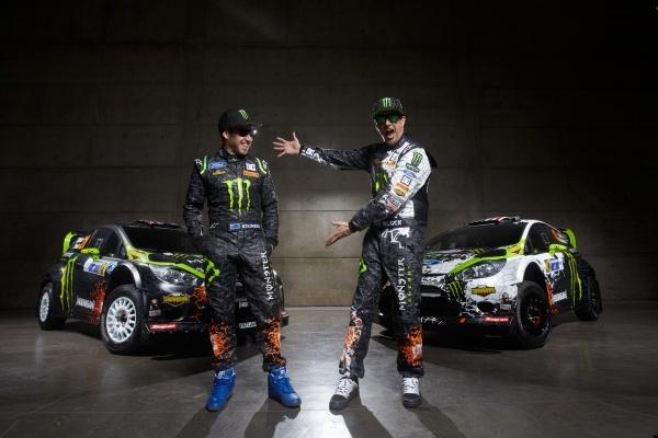ken block monster world rally team
