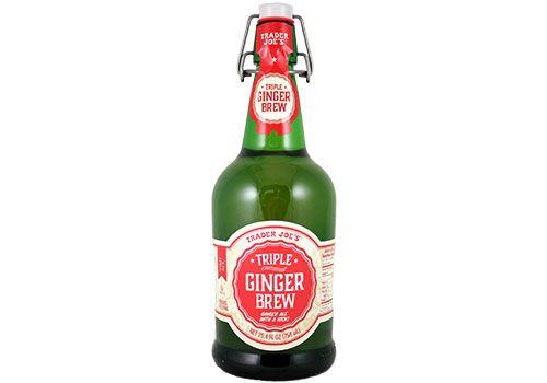Trader Joe's Triple Ginger Brew  $2.99   #Triple   #Gingerale #gingerBrew #traderjoes