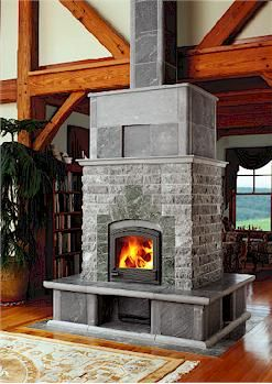 Tulikivi Soapstone wood stove...one can dream, right?
