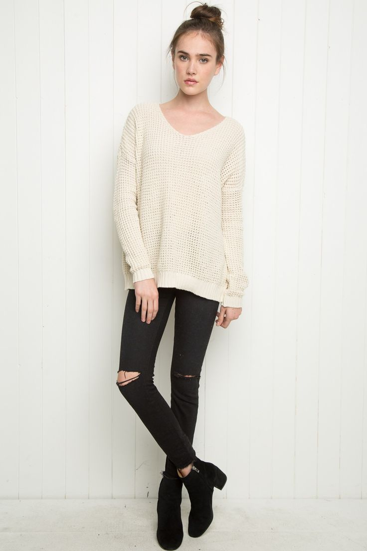 Brandy ♥ Melville | Bette Sweater - Pullovers - Sweaters - Clothing