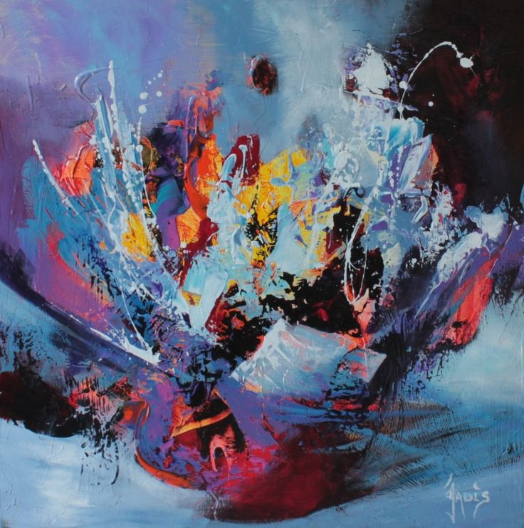 peinture abstraite art abstrait Plus