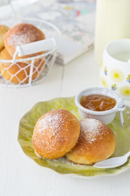 Pan dulce casero : Bollitos de leche - Megasilvita