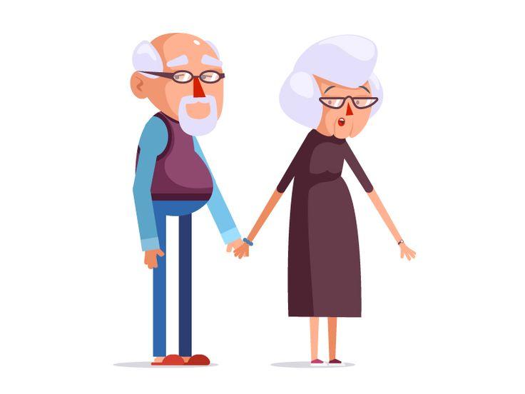 Grandma, Grandpa by Csaba Khilenberg