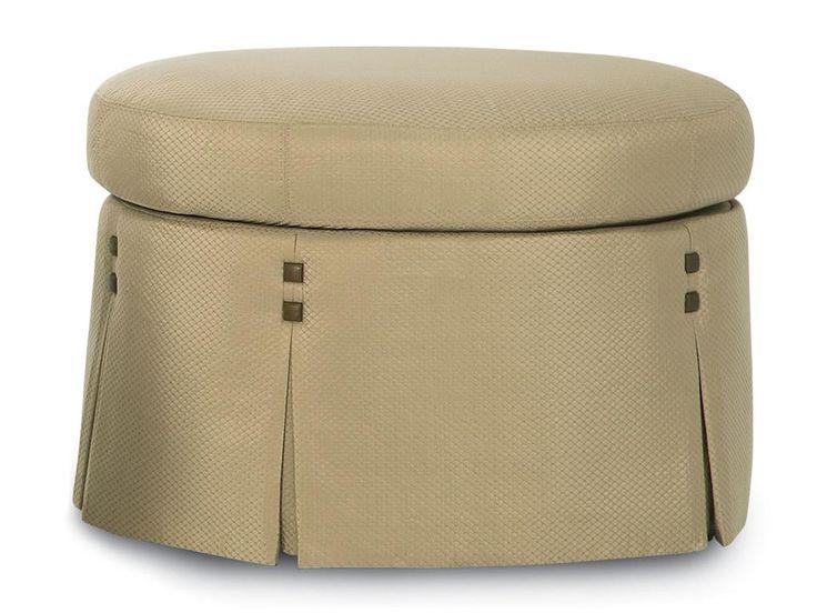 Kravet Bilbao Small Oval Ottoman FS304 - Kravet - New York, NY