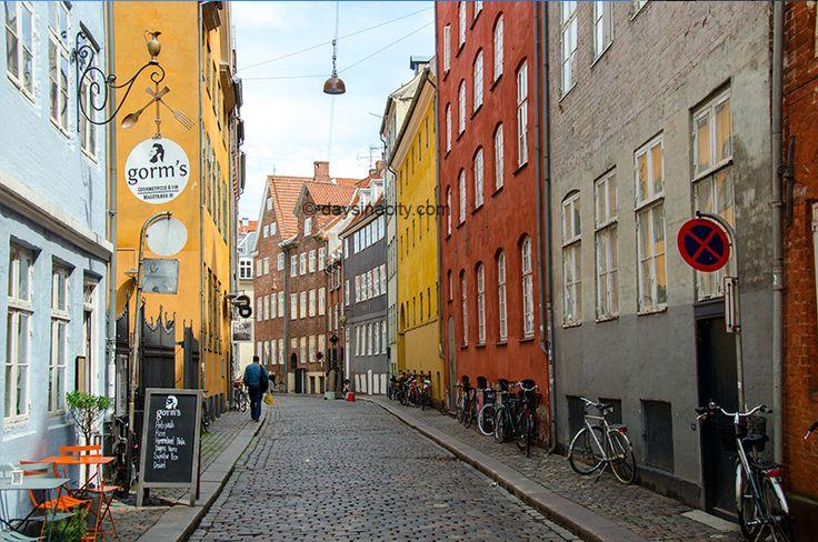 Typical Street in central Copenhagen