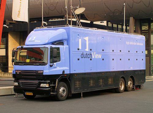 2007 DAF CF85 van DutchView DV2 ( HD TV reportage wagen )