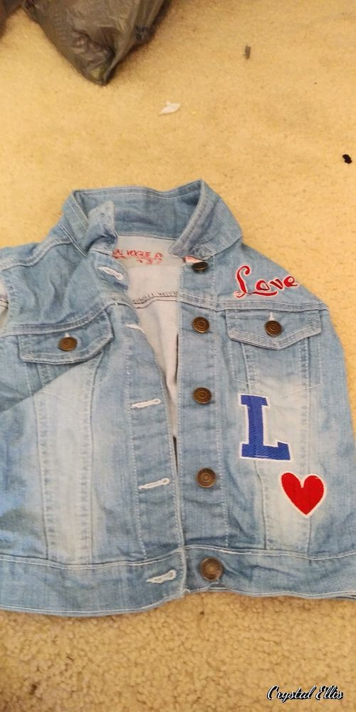 1deebc24b Jean Vest Girls Size 8/10 | Girls' Clothing (Sizes 4 & Up) | Pinterest |  Clothes, Girl outfits and Jean vest