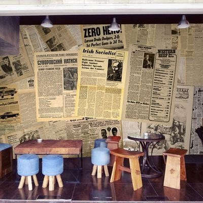 大型壁画复古旧报纸拼图英文字母酒吧火锅餐厅背景墙无缝壁纸墙纸-淘宝网