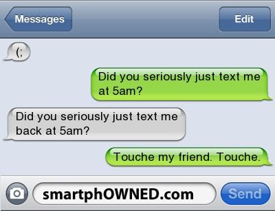 5am - Ownage - Autocorrect Fails and Funny Text Messages - SmartphOWNED