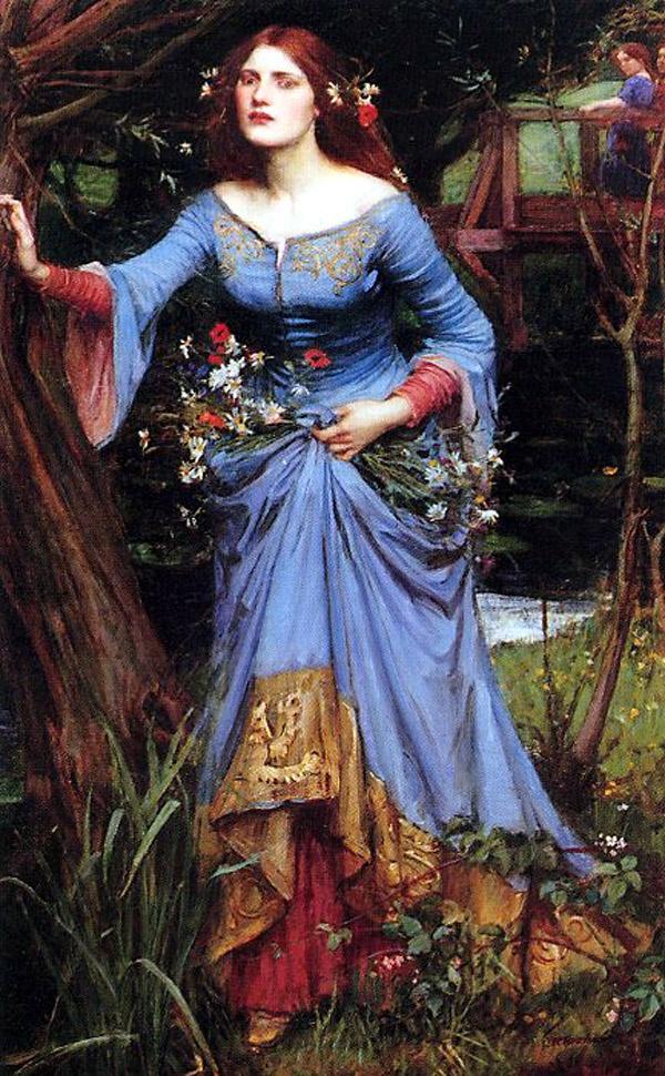 Ophelia by JW Waterhou...