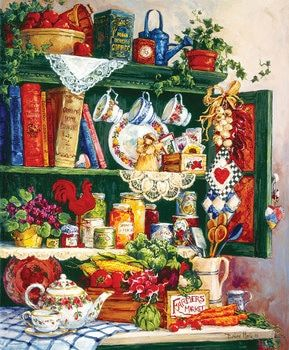 Grandma's Cupboard - 1000pc Jigsaw Puzzle by SunsOut in 2019