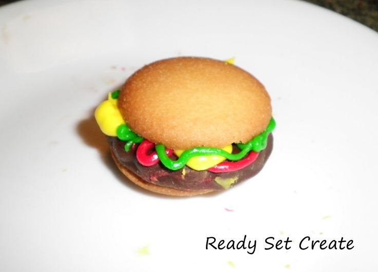 Maybe you've seen hamburger cookies around??? I've seen them around so many places that I don't even remember where I first saw them. The f...