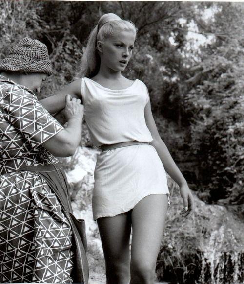 Virna Lisi- Italian film actress
