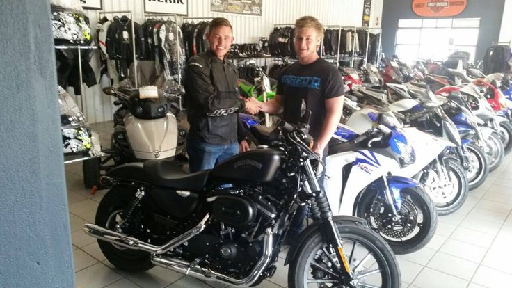 Congratulations Juan Steenkamp on your New Harley Davidson 883 Iron.. Thank you for the support and enjoy it. #B5HD #harleydavidson #middelburg #bikecity #iron