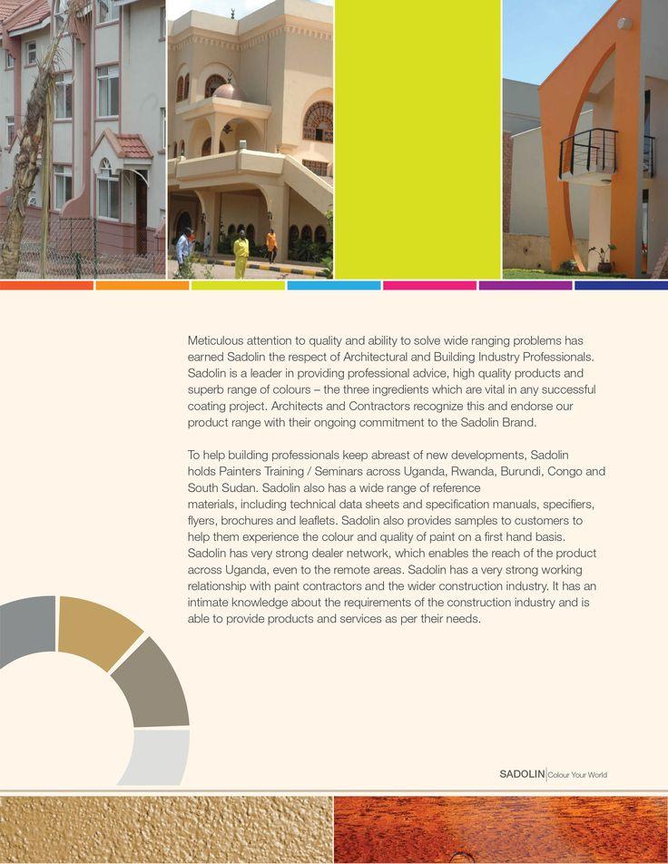 Sadolin Paints Uganda Company Profile