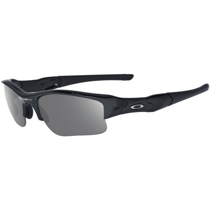 Oakley Flak Jacket XLJ Sunglasses, Adult Unisex, Black