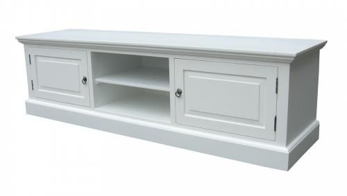 Vita möbler, Soffbord, TV-bänkar - Alezzi vit - Möbelgrossen
