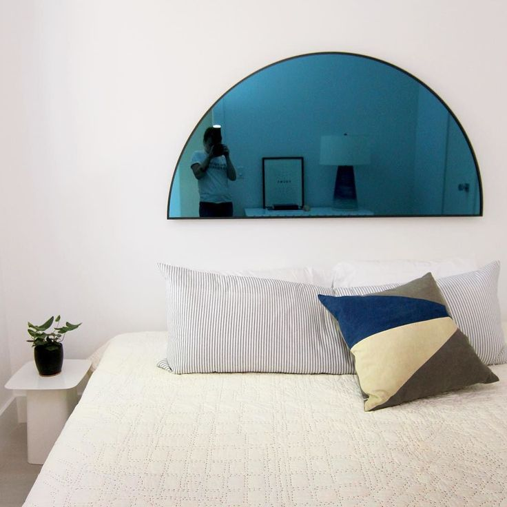 I Love This Mirror Via Laurengeremia  Blue, Mirror, Decor · Bedroom  Interior DesignBedroom ...