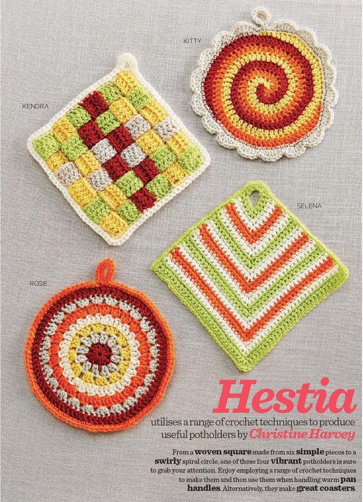 Les 25 meilleures images propos de manique sur pinterest for Decoration de cuisine en crochet