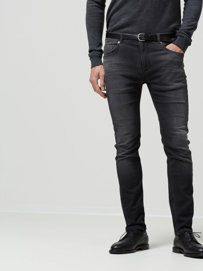 SLIM FIT - JEANS, Black, large