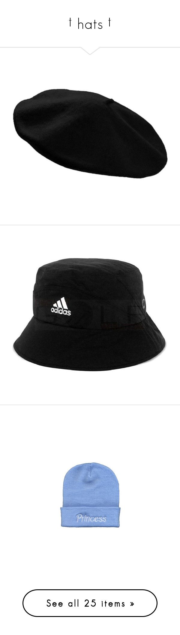 """† hats †"" by ulzz-nara ❤ liked on Polyvore featuring accessories, hats, wool beret hat, wool beret, woolen hat, beret hat, wool hat, bucket hats, headwear and waterproof hat"