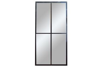 Four Panel Mirror (black)