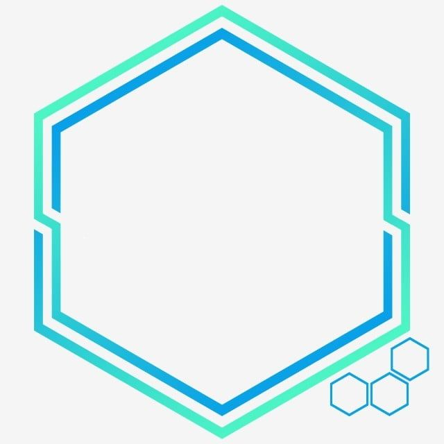Technologically Shaped Hexagonal Border Shapes Technology Border Hexagonal Border Png Transparent Clipart Image And Psd File For Free Download Poster Background Design Graphic Design Background Templates Simple Logo Design