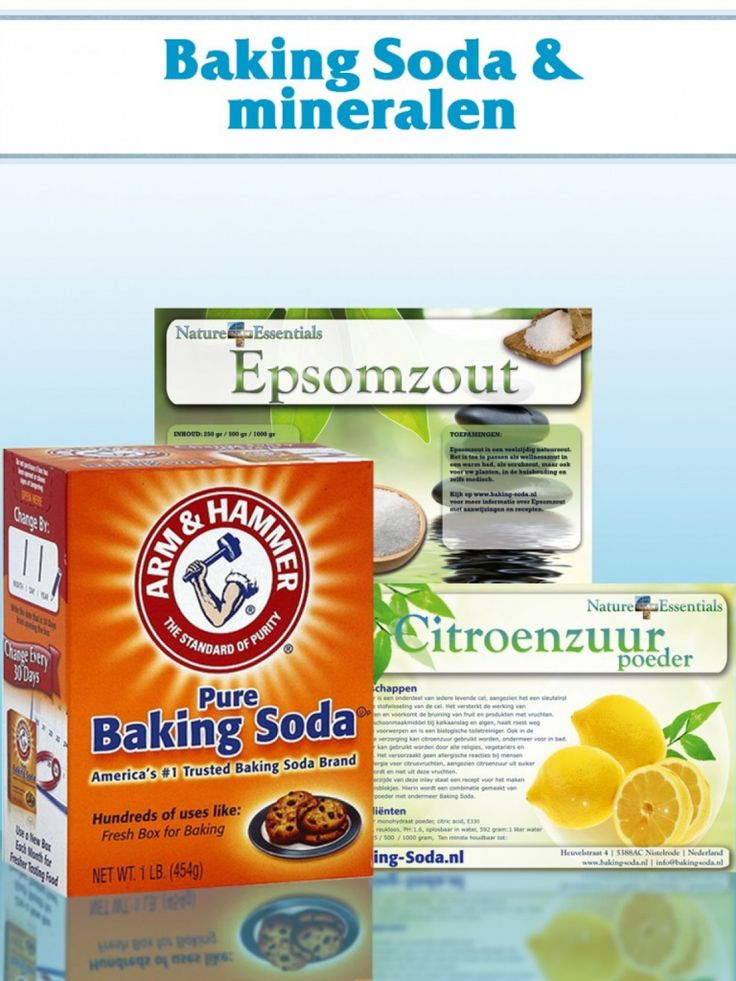 Infotheek Grootmoeders recepten Huishouding Persoonlijke verzorging Gezondheid Pret & Plezier RijsmiddelVoeg baking soda samen met iets zuurs toe aan een beslag. Bijvoorbeeld karnemelk, yoghurt of citroen. Dit is een voorwaarde voor een goede rijzing. Gebruik 1 theelepel citroensap per 2 gram baking soda. Bij de meeste recepten wordt 1 theelepel baking soda gebruikt, wat overeenkomt …