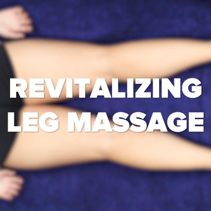 Rejuvenating Leg Massage