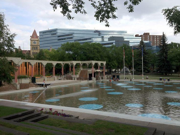 Olympic Plaza (Photo: Adele Brunnhofer) #Calgary #Alberta #Canada