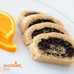 Rulada raw cu mac / Raw poppy seed roll - Madeline's Cuisine