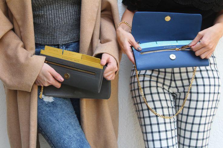 Brocdeco en Beauty Brunch Blog bolsa tipo clutch con compartimientos para guardar los documentos para viajar