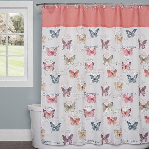 Curtains Ideas butterfly shower curtain : 1000+ ideas about Butterfly Shower Curtain on Pinterest ...