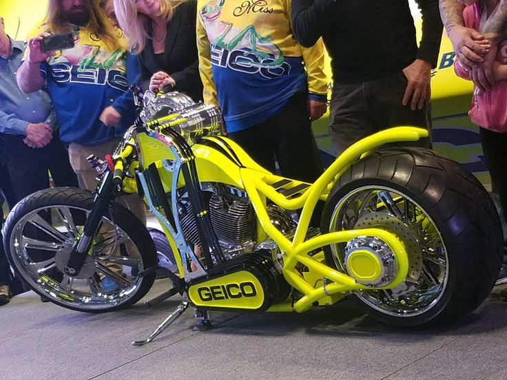 Orange County Choppers, Miss Geico Racing Custom build ...