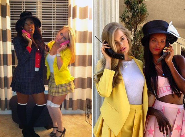 Cher and Dionne in Clueless? Definitely one of the best '90s Halloween costumes.