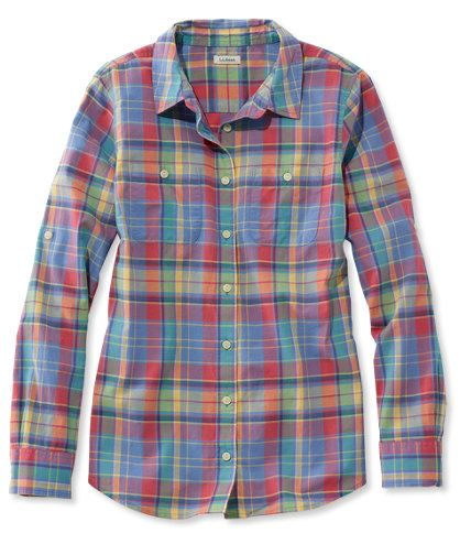 Free Shipping. Discover the features of our L.L.Bean Madras Shirt, Long-Sleeve at L.L.Bean. Our high quality Women's Shirts are backed by a 100% satisfaction guarantee.