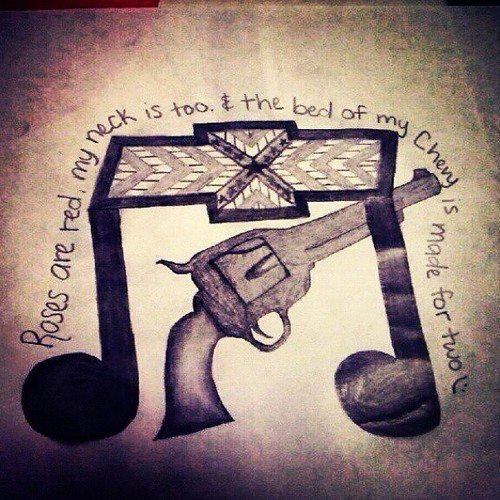 country song quotes tattoos - photo #31