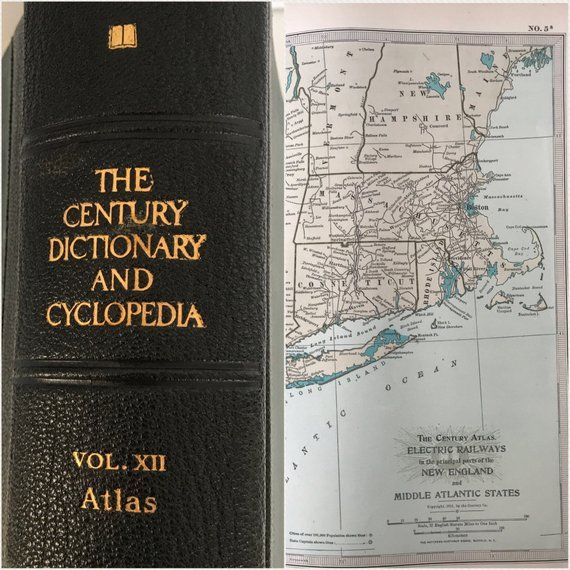 Antique 1913 Atlas World Maps United States Maps Old Maps Big Leather Encyclopedia Book Early 1900s Vintage Maps Collec United States Map Old Maps Vintage Maps