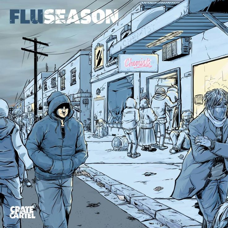 Flu aka Fluent Form - Flu Season: It's no secret that Melbourne boutique hip hop label Crate Cartel have been putting out some of the purist hip hop music in Australia for years now. Having the deepest respect for the genre's roots, the Cartel is conscientiously on point when adhering to age-old principals and legacies.