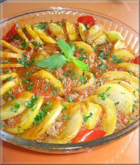 Akşam yemekleriniz için hem pratik hem de çok lezzetli bir tarif bu ve de patates kızartması ve kırmızı etin muhteşem buluşması bence. Bu ya...