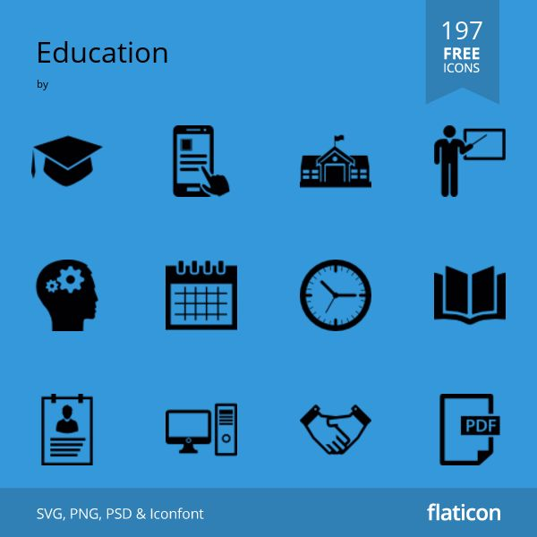 Education FREE ICONS PACK