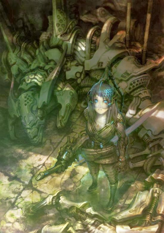 Fantasia e ficção científica nas ilustrações de Keun-ju Kim a.k.a. rabbiteyes