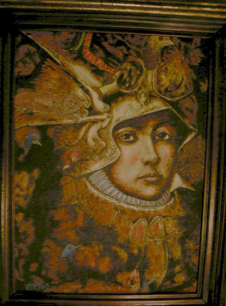 Armando Villegas Guerrero Oleo sobre lienzo 34 x 24 centímetros