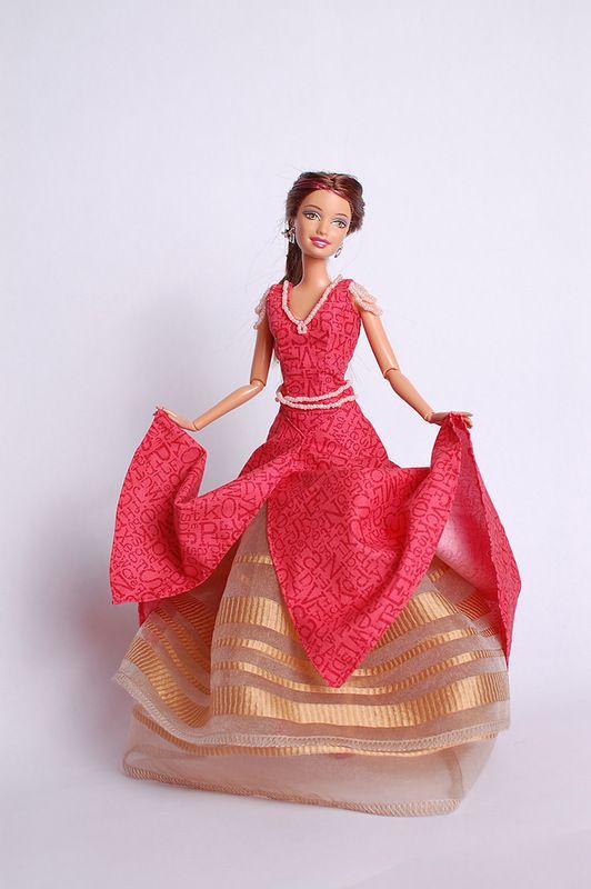 картинки платье своими руками барби этот юбилей