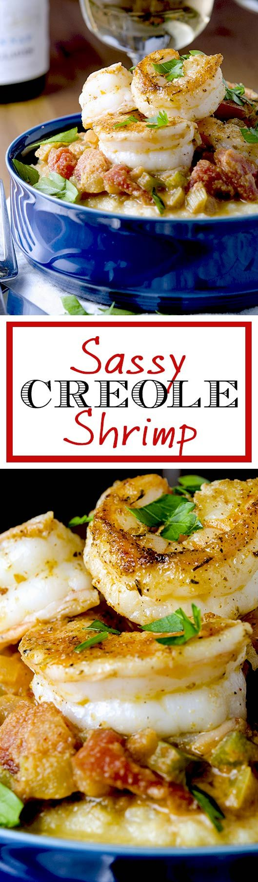 The perfect southern style shrimp creole recipe. So yummy with a touch of spice that makes this whole dish so nice.